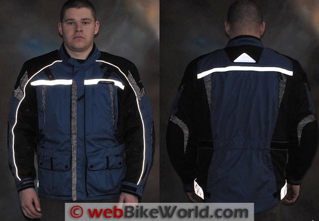 Tourmaster Transition Series 3 Jacket Reflectivity