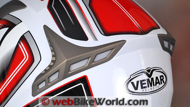 Vemar Storm Rear Exhaust Vents