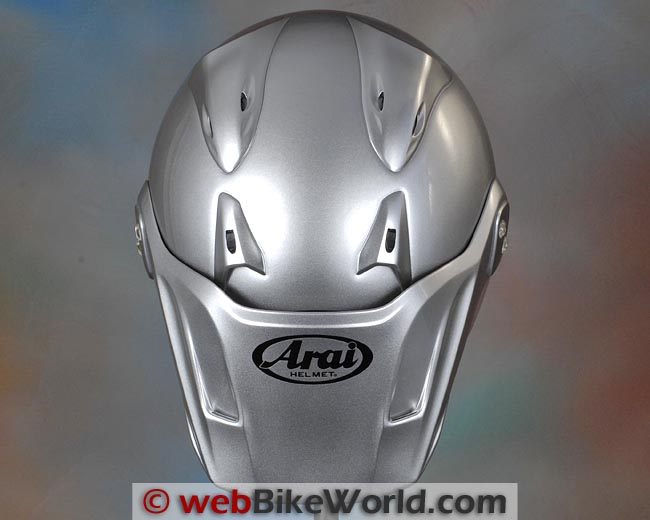 Arai XD4 Top View