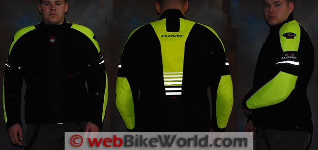 Clover Tekno Jacket Reflectivity