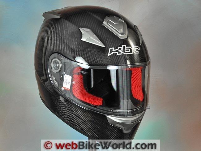 KBC VR4R Carbon Fiber Helmet Review - webBikeWorld