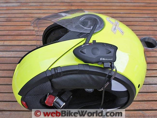 Midland BT Next on SCHUBERTH C3 Helmet