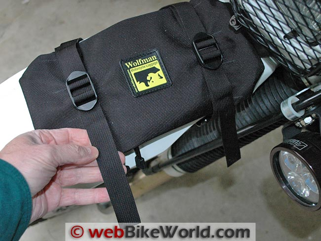 Wolfman Enduro Fender Bag Strap Length