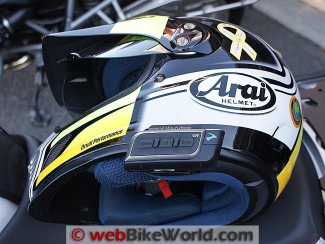 Cardo Scala Rider G9 Helmet Mounting