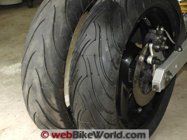 Michelin Pilot Road 2 vs. Pilot Road 3 Rear Tires