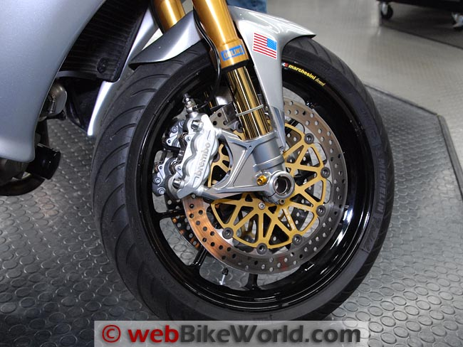 Motus MST Front Wheel
