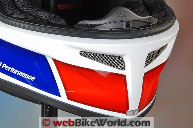 AGV Grid Helmet Chin Vent