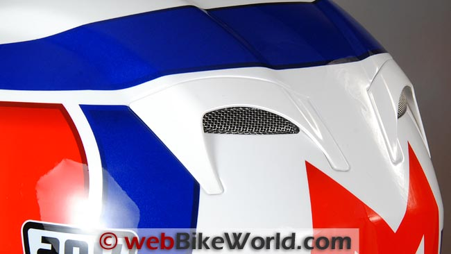 AGV Grid Helmet Rear Vents