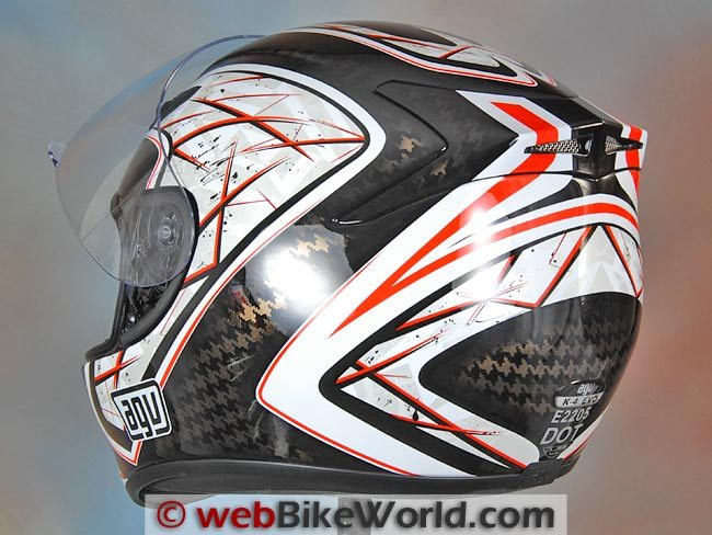 AGV K4 EVO Rear View
