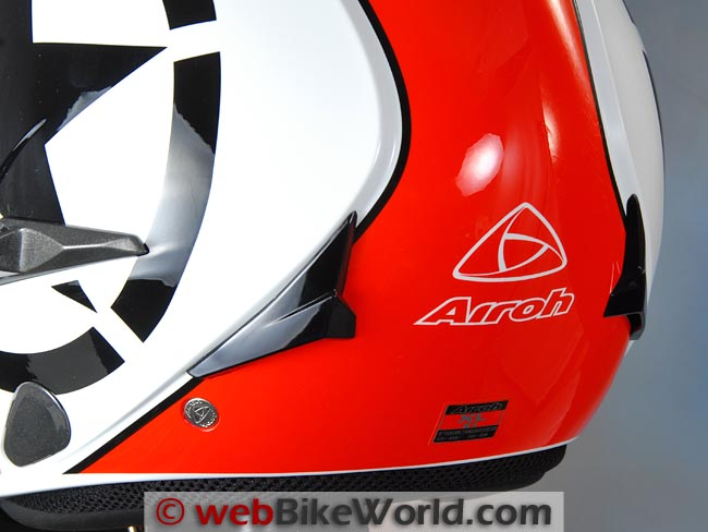 Airoh J106 Helmet Rear Vents