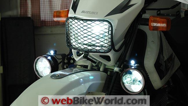 BikeVis Bullets V2 Brightness