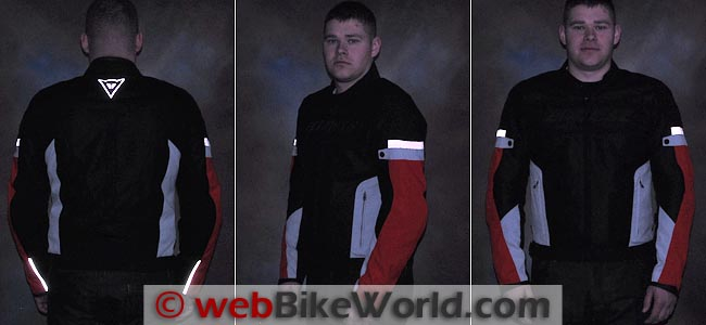 Dainese Air Frame Jacket Reflectivity