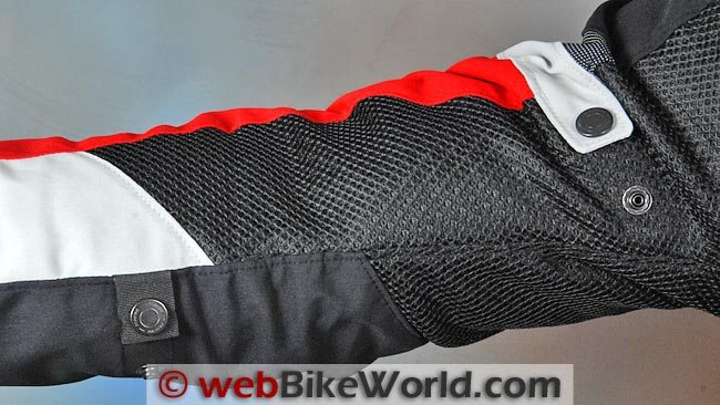 Dainese Air Frame Jacket Sleeve Adjusters