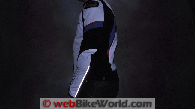 Dainese Aspide Jacket Reflectivity