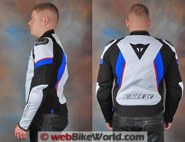 Dainese Aspide Jacket Side Rear Views