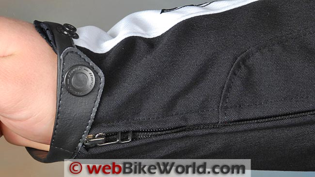 Dainese Aspide Jacket Sleeve Cuff