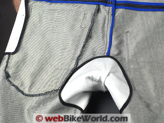 Dainese D1 Kevlar Jeans Lining