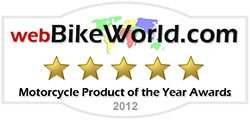2012 webBikeWorld Motorcycle Product of the Year
