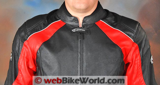 AGV Sport Breeze Jacket Chest Neck