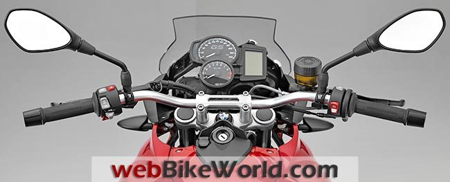 BMW F 700 GS Dashboard
