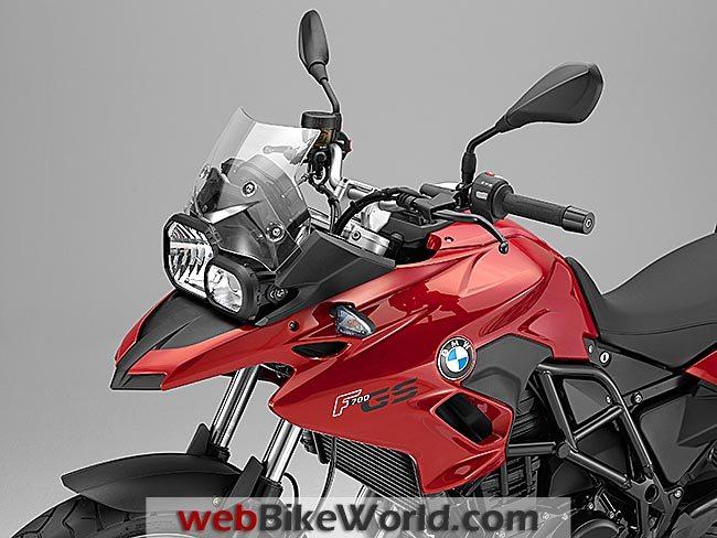 BMW F 700 GS Headlight