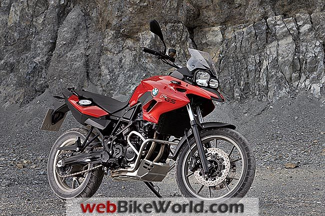 BMW F 700 GS Red