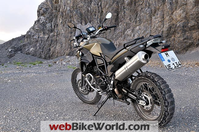 BMW F 800 GS Gold Rear