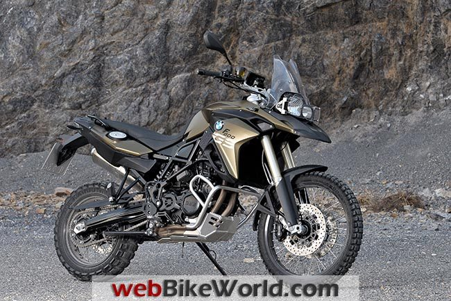 BMW F 800 GS Gold