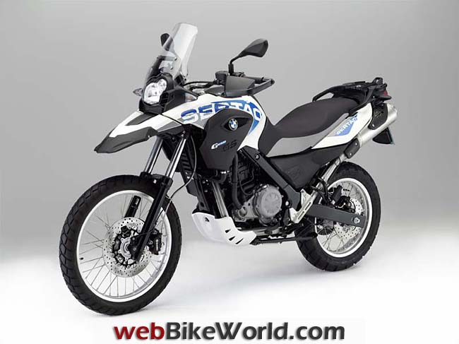 BMW G 650 GS Sertao Left Front