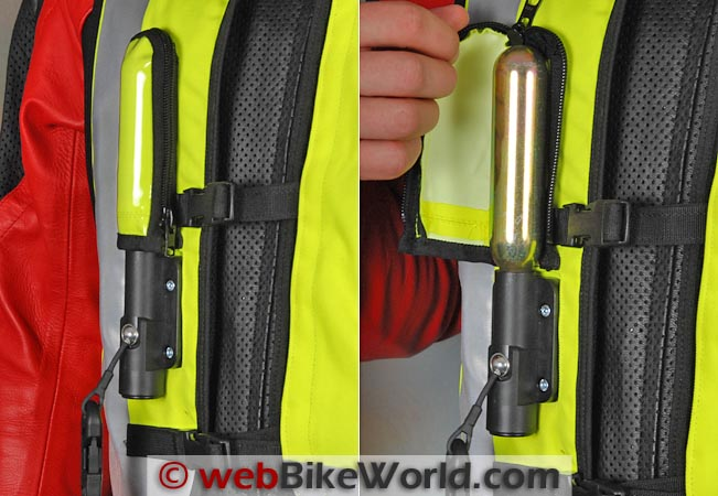 Helite Airbag Vest CO2 Cartridge