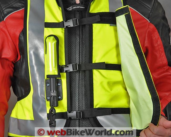 Helite Airbag Vest Straps