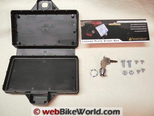 License Plate Stash Box Kit