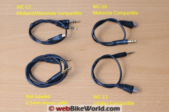UClear WT300 Cables