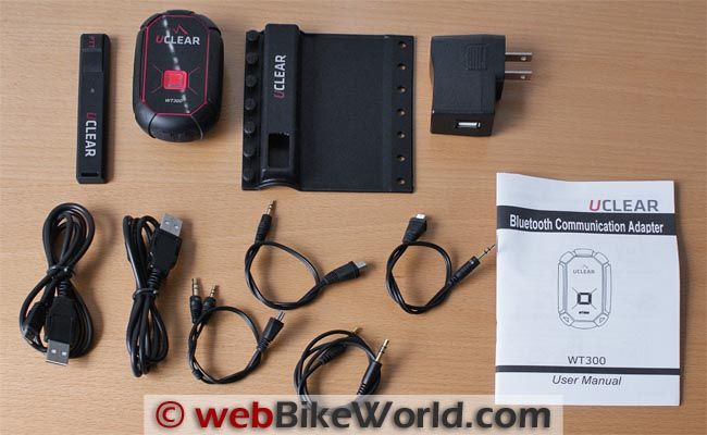 UClear WT300 Kit Contents