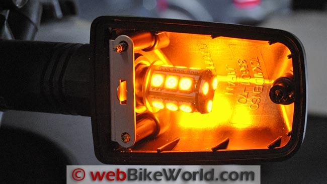 1156 LED Bulb Close-up