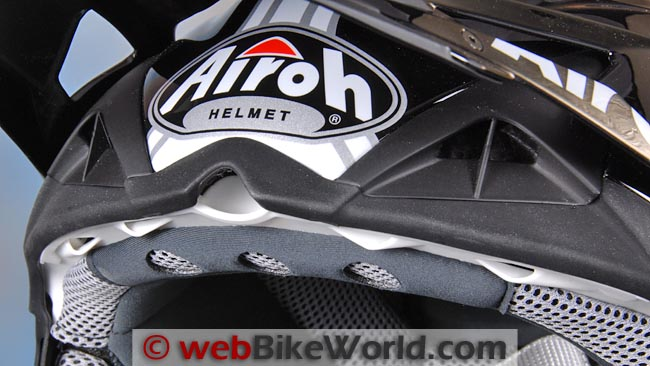 Airoh Aviator Brow Vents