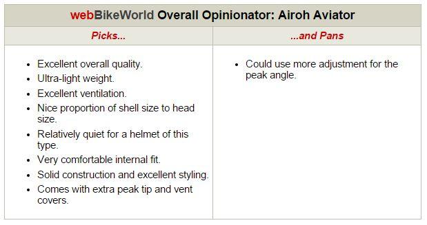 Airoh Aviator Opinionator