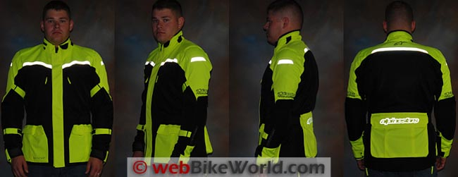 Alpinestars Cape Town Jacket Reflectivity