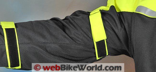Alpinestars Cape Town Jacket Sleeve Adjusters