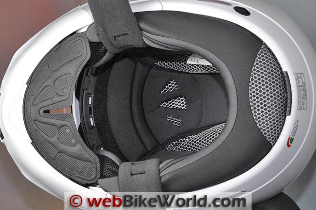 Caberg Justissimo GT Helmet Liner