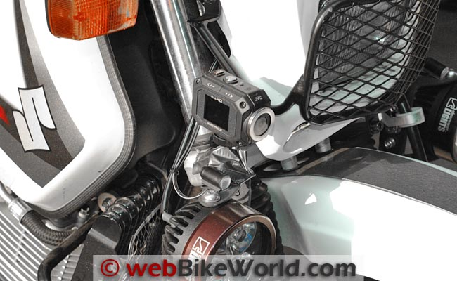 JVC GC-XA1 Adixxion Motorcycle Mount