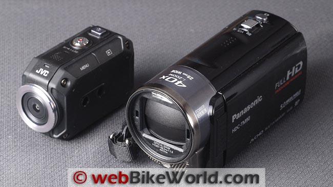 JVC GC-XA1 Adixxion With Panasonic TM90
