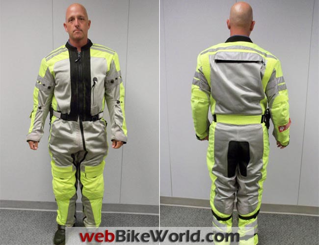 Teiz Mojave Suit Front Rear Views