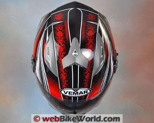 Vemar Geo Helmet Top View
