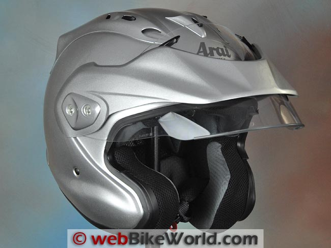 Arai CT-Z Face Shield Raised