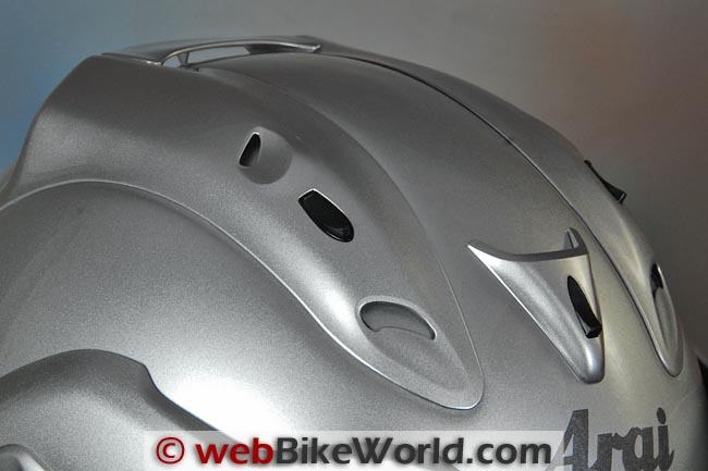 Arai CT-Z Helmet Top Vents