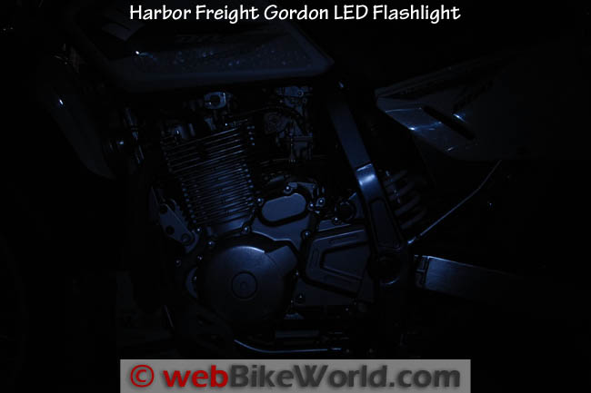 Harbor Freight Gordon LED Flashlight
