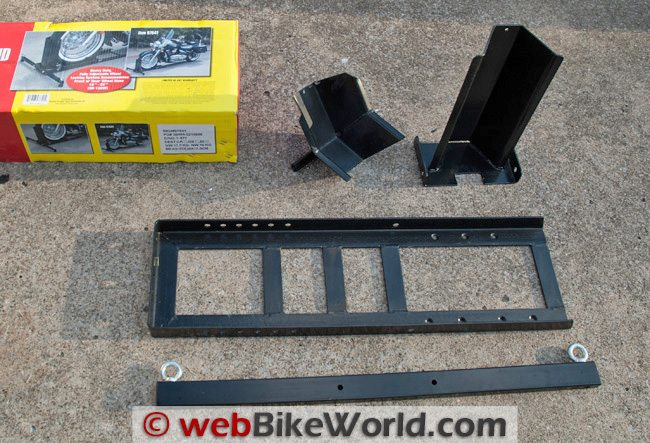 Harbor Freight U.S. General Front Wheel Stand Kit