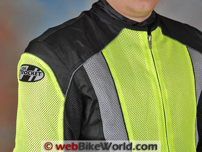 Joe Rocket Phoenix 5.0 Jacket Front Chest and Zipper