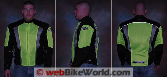 Joe Rocket Phoenix 5.0 Jacket Reflectivity